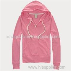 CVC55/45 Woman Full Zipper Hoody