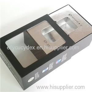 White Paper Drawer Type Gift Box