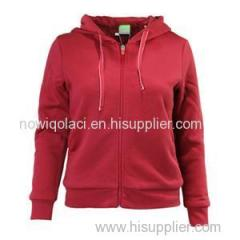 CVC80/20 Woman Full Zipper Hoody