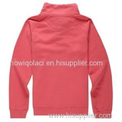 CVC70/30 Woman Full Zipper Sweatshirt