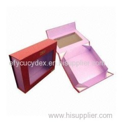 Factory Price Clamshell Gift Box With With PVC Window