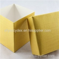 Wholesale Custom Desgin Color Paper Cardborad Cube Box