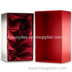 Hardcover Paper Single Wine Bottle Gift Box