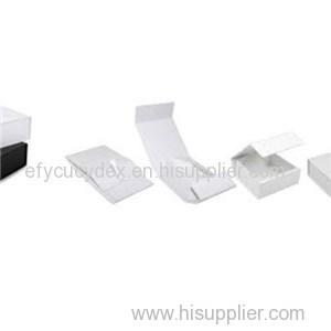 Sturdy Construction White Folding Box