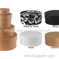 Custom Design Wholesale Round Gift Box