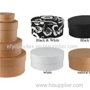 Custom Design Wholesale Round Gift Box