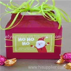 Competitive Quality Wholesale Colors And Patterns Gable Gift Boxes