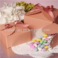 Flower Edge Favor Candy Boxes