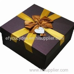 Custom Design Cardboard Square Gift Box Candy Package Box