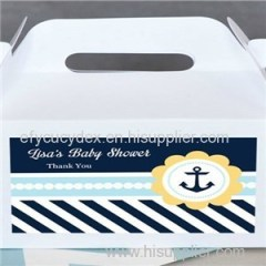 Professional Factory Wholesale Colored Mini Tote Paper Gable Boxes