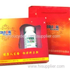 Hot Sale Paper Printed Bottle Gift Box For Health Care Products