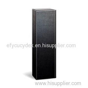 Paper Printed Long Shape Black Wine Bottle Gift Box