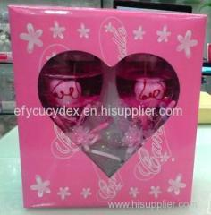 Luxury Custom Made Candle Packaging Paper Box Square Gift Box