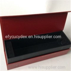 Different Size Paper Printed Collapsible Gift Box For Champagne