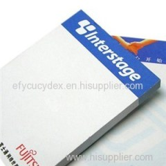 Customized Full Color Printing Reuse Sticky Note