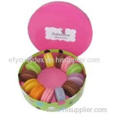 Exquisite Workmanship Cake And Bakery Round Gift Box