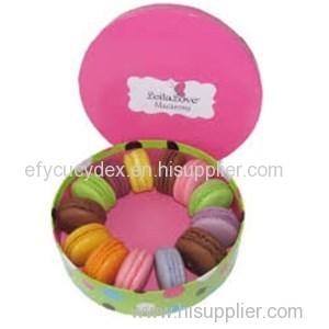 Exquisite Workmanship Cake And Bakery Round Gift Box