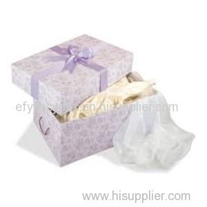Sturdy Construction Apparel Box For Wedding Dresses