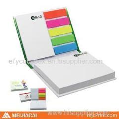 Hardcover Sticky Note With Some Small Pieces Paper Block