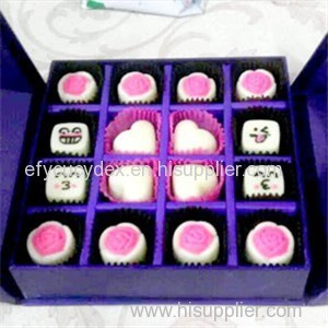 New Christmas Design Paper Gift Box Square Gift Box For Chocolate