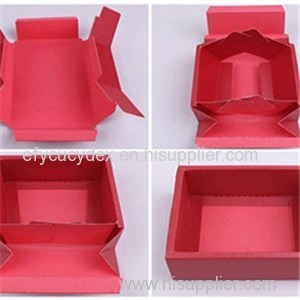 Fashionable Collapsible Gift Box For Chocolate