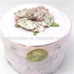 Luxuriant In Design Round Altered Round Gift Box
