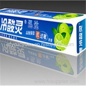 Cheap Custom Rectangle Toothpaste Gift Box Manufacture