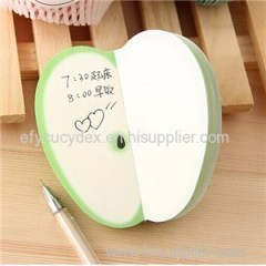 Nice Looking Special Fruit Sharp Sticky Note