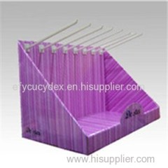 Wholesale Custom Supermarket Display Box With Hook