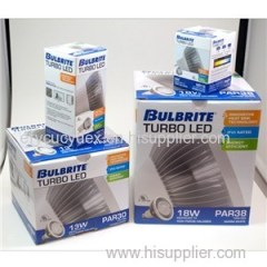 Low Price Customized Corrugated Paper Led Light Bulb Box