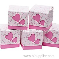 Gift Candy Box Pink Wedding Party Love Favor Laser Cut Paper