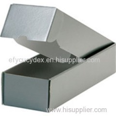 Cheap Hard Paper Printed Clamshell Bottle Gift Box For Package