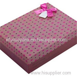 High Quality Cardboard Color Paper Rectangle Gift Box Print And Packaging Box