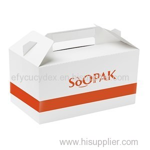 China Made Luxury Gable Boxes For Party