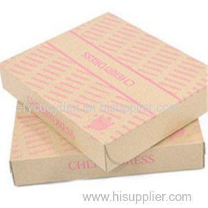 High Quality Color Printed Paper Rectangle Gift Box Dress Package Box