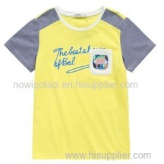 Best Quliaty Contrast T Shirt For Kids