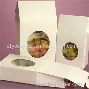 Oval Window Upright Candy Boxes