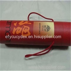 Wholesale Round Wine Bottle Gift Box With Ribbon