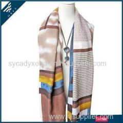 Geometric Patterns Printed Scarf