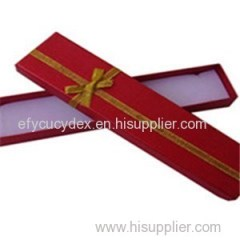 Hot Sale Cardboard Color Printed Paper Jewelry Box Rectangle Gift Box Made In China
