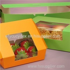 Wrap Around Window Bakery Boxes