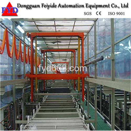 Feiyide Automatic Copper Barrel Electroplating / Plating Production Line for Hinges