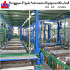 Feiyide Automatic Copper Barrel Electroplating / Plating Production Line for Metal Parts