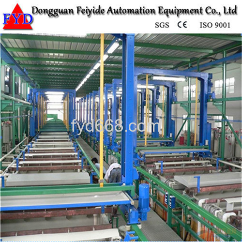 Feiyide Automatic Chrome Barrel Electroplating / Plating Machine for Bathroom Accessory