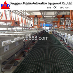 Feiyide Automatic Nickel Barrel Electroplating for Nails copper plating