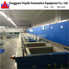 Feiyide Automatic Hanging-arm Barrel Electroplating / Plating Equipemt for Hardware Parts
