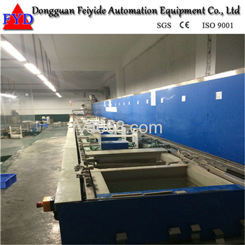 Feiyide Automatic Hanging-arm Barrel Plating Production Line