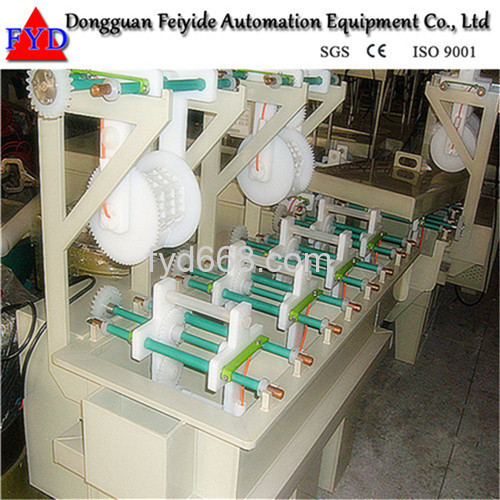 Feiyide Automatic Hanging-arm Barrel Electroplating / Plating Machine for Screw