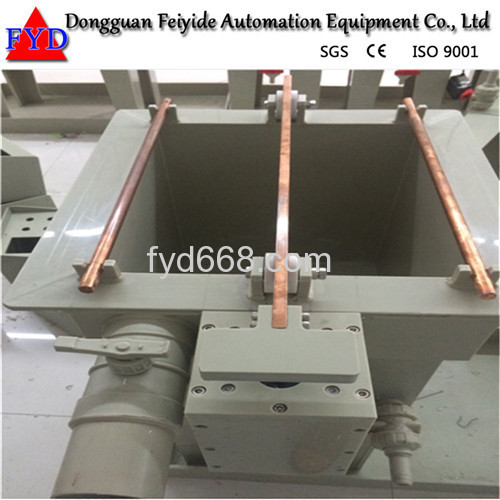 Feiyide Manual Rack Chrome Electroplating / Plating Machine for Shower Head