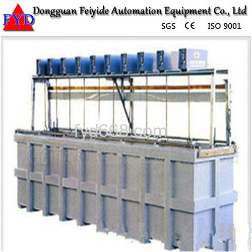 Feiyide Manual Rack Chrome Electroplating / Plating Machine for Bathroom Accessory